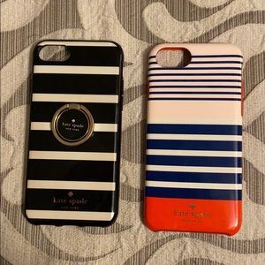 Two Kate Spade Phone Cases - IPhone 8